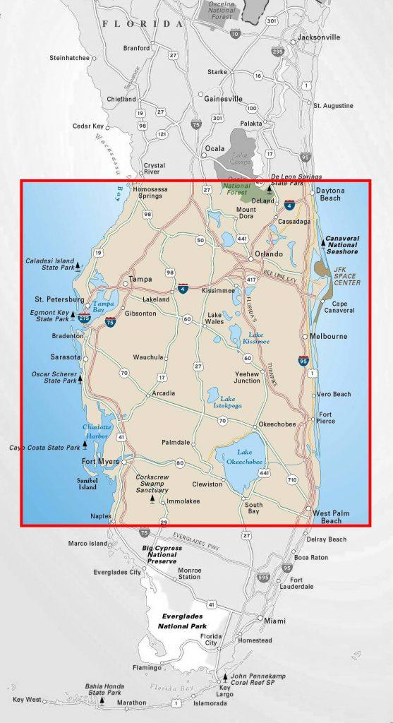 Florida service area